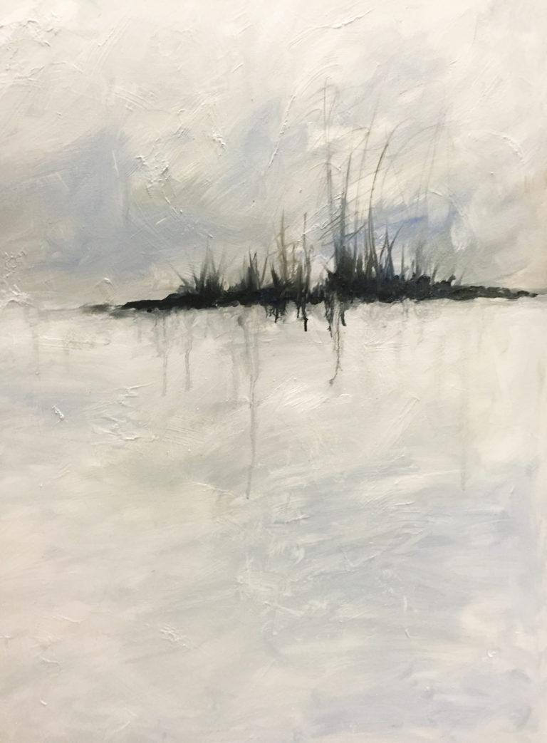 Deep Winter - Oil on Canvas